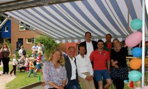 Offizielle Übergabe der Sonnenmarkise und Sommerfest 2015